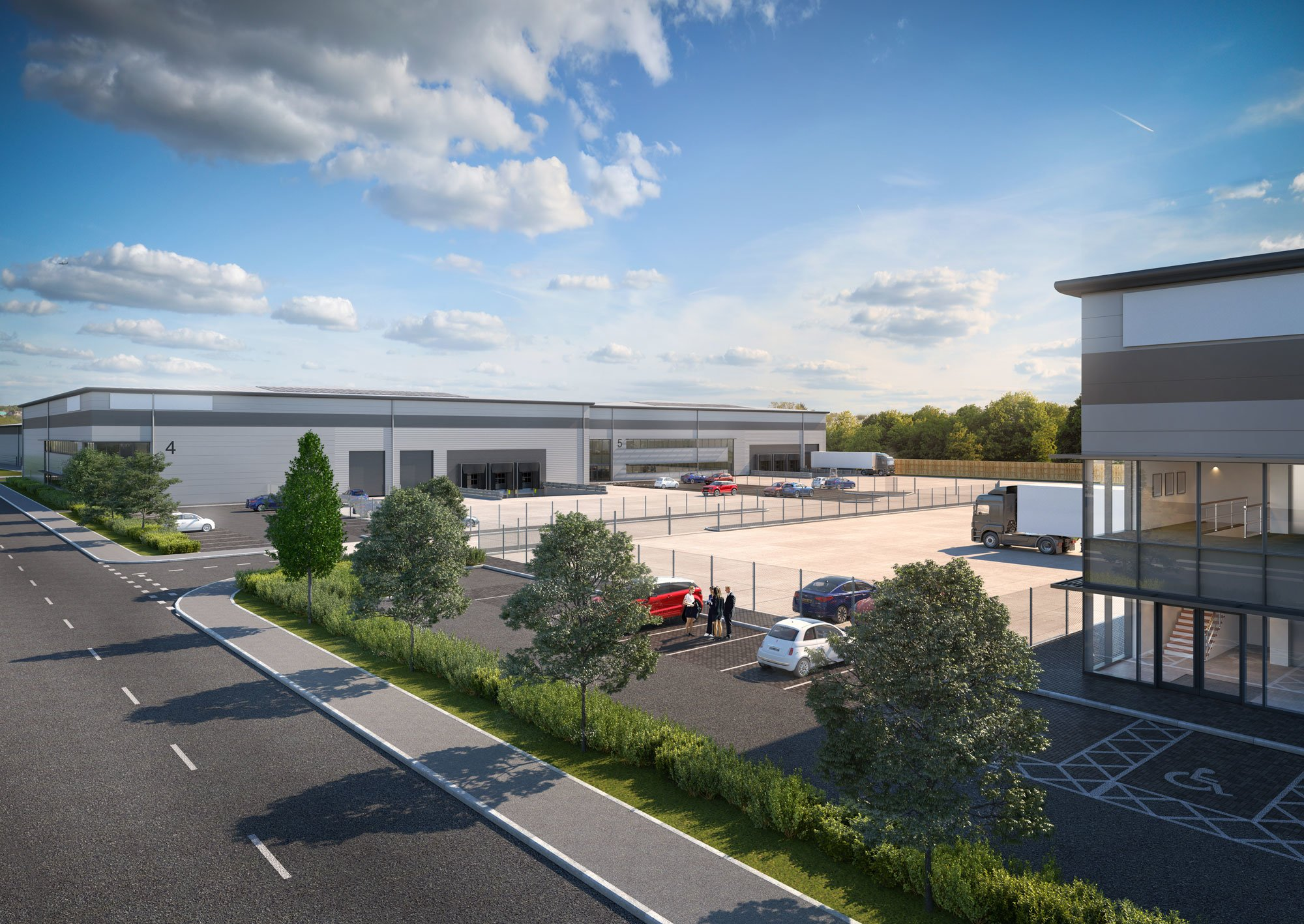 Construction to start at Axis J9 Bicester's latest distribution & manufacturing park following detailed planning approval